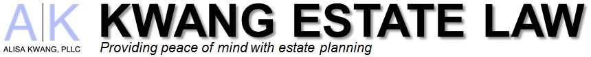 Alisa Kwang, PLLC - Kwang Estate Law Logo